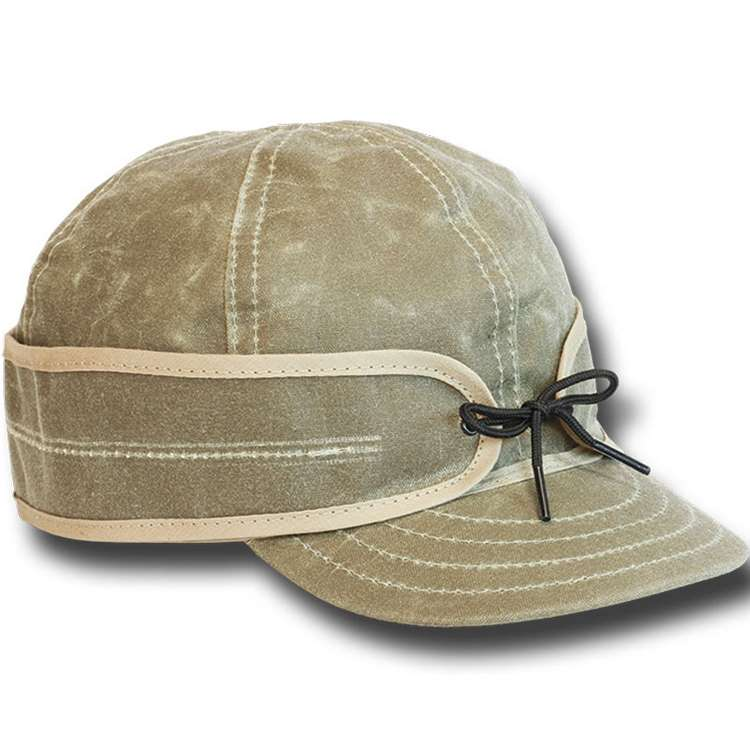 The Original Stormy Kromer Waxed Field Cap