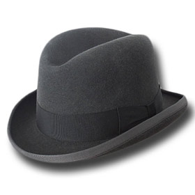 Melegari Cappello a lobbia homburg godfather h