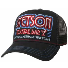 Stetson Berretto Baseball Trucker Cocktail Bar