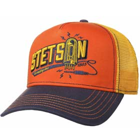 Stetson Berretto Baseball Trucker Connecting