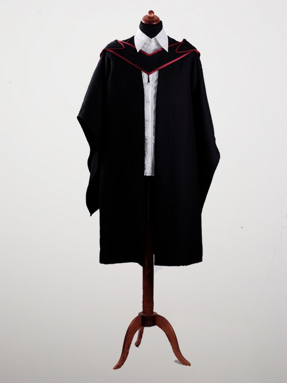 Graduation Gown 6 with a hood Wholesale