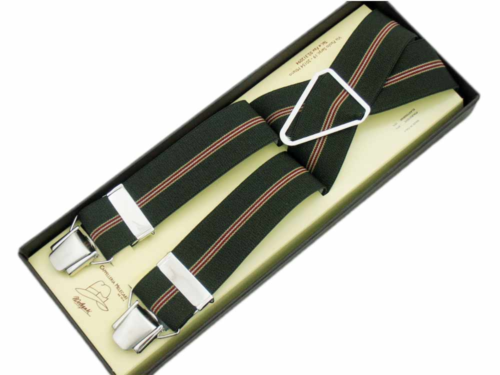 Braces man woman wide 3.6 cm Regimental 12