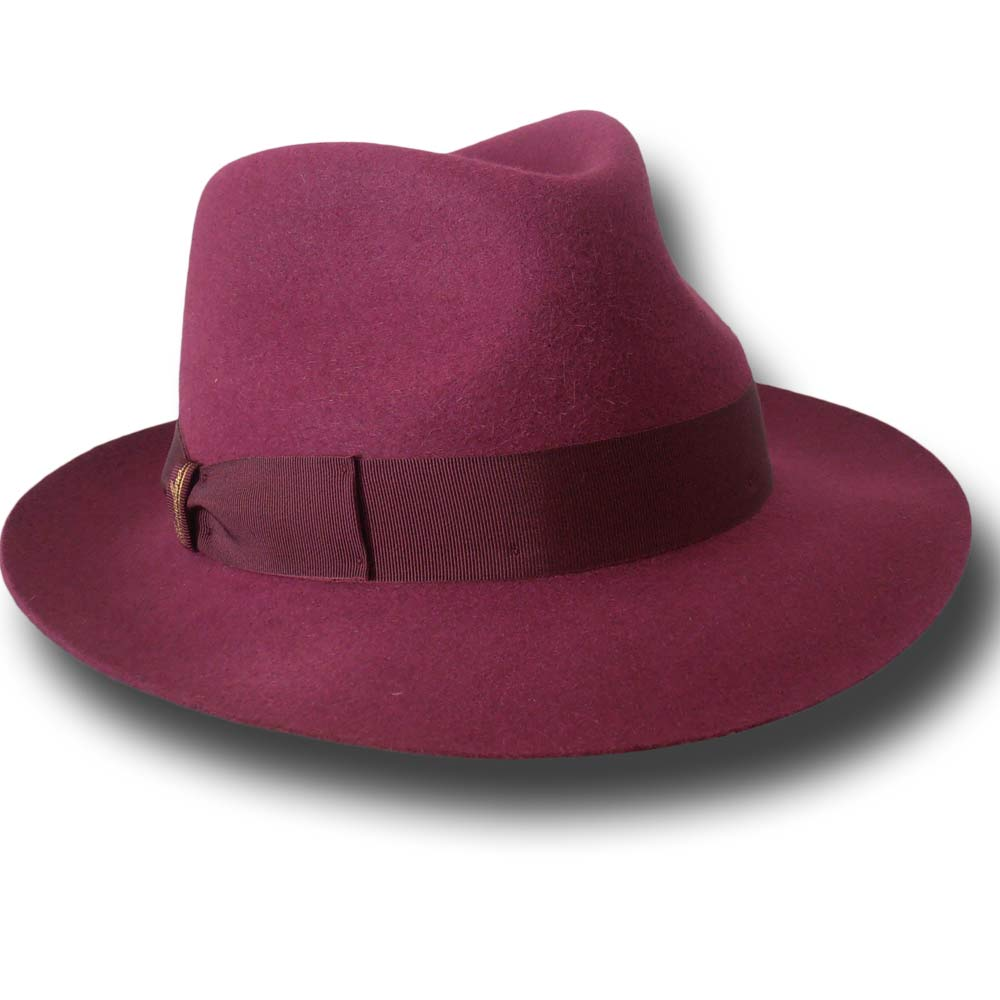 Borsalino Cappello donna open crown Sfoderato