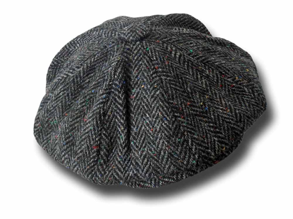 Berretto donegal tweed Gatsby Gerry Hatman of
