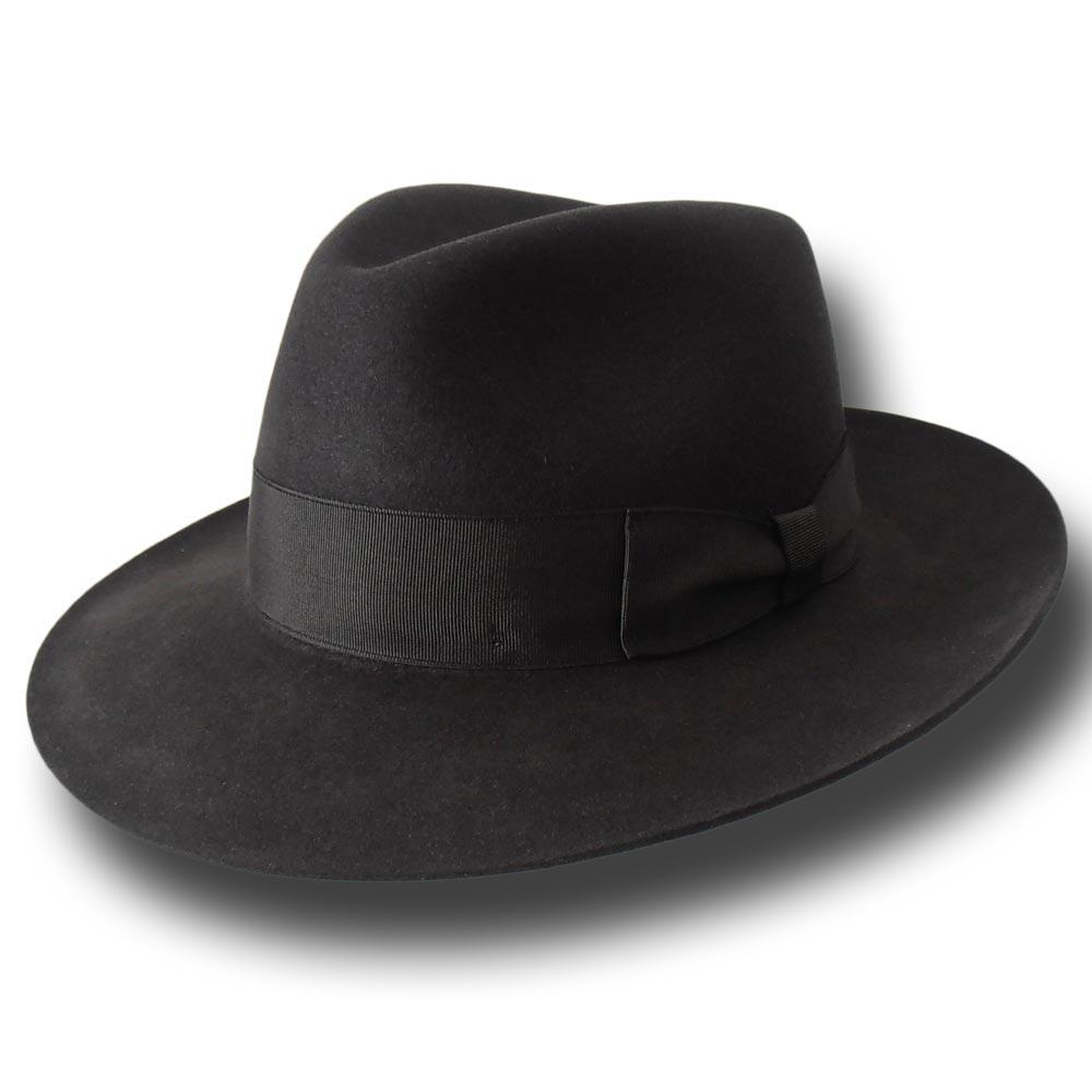 34d94c0f405c4 Melegari Fedora Fur felt Hat