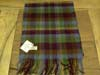 Lambswool Irish tartan scarf J.Hanly