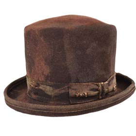Cappello a cilindro Dandy Aged Top Hat
