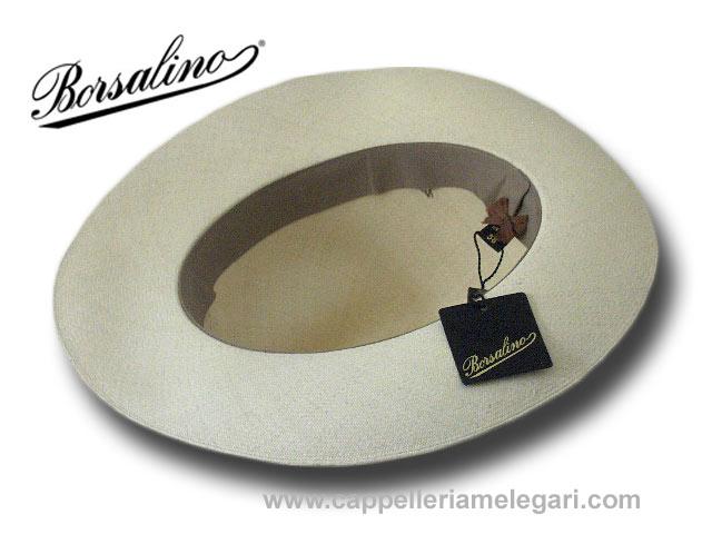 Borsalino Cappello 140283 Panama Montecristi fedora supreme ... d7c1bf1b41e3