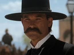 Western Sheriff Wyatt Earp Tombstone Kurt Russell replica hat ...