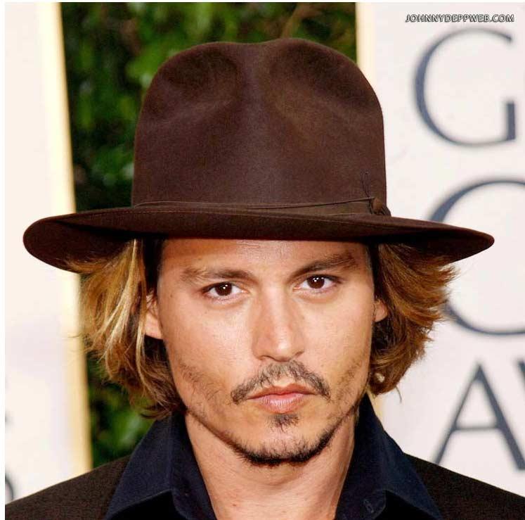 9ae65d570 Fedora Johnny Depp top quality hat brown [depp-fedora-marrone ...