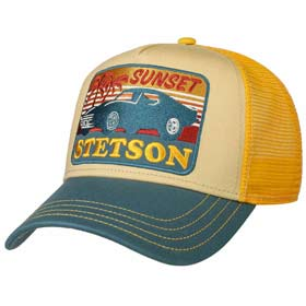 Stetson Berretto Baseball Trucker Sunset